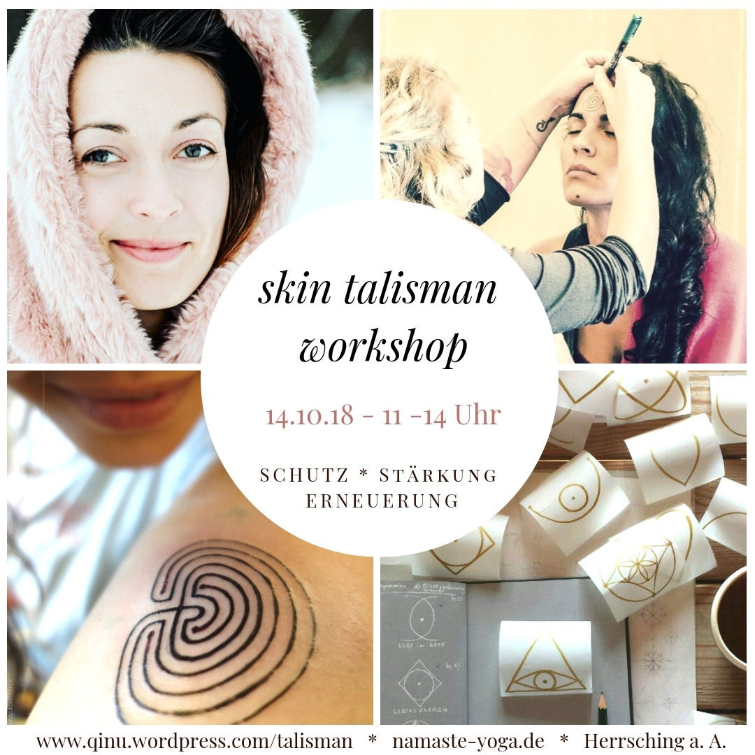 skin talisman workshop